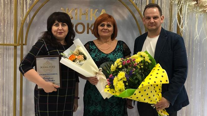 Женщина года от компании «Укрфаворит»